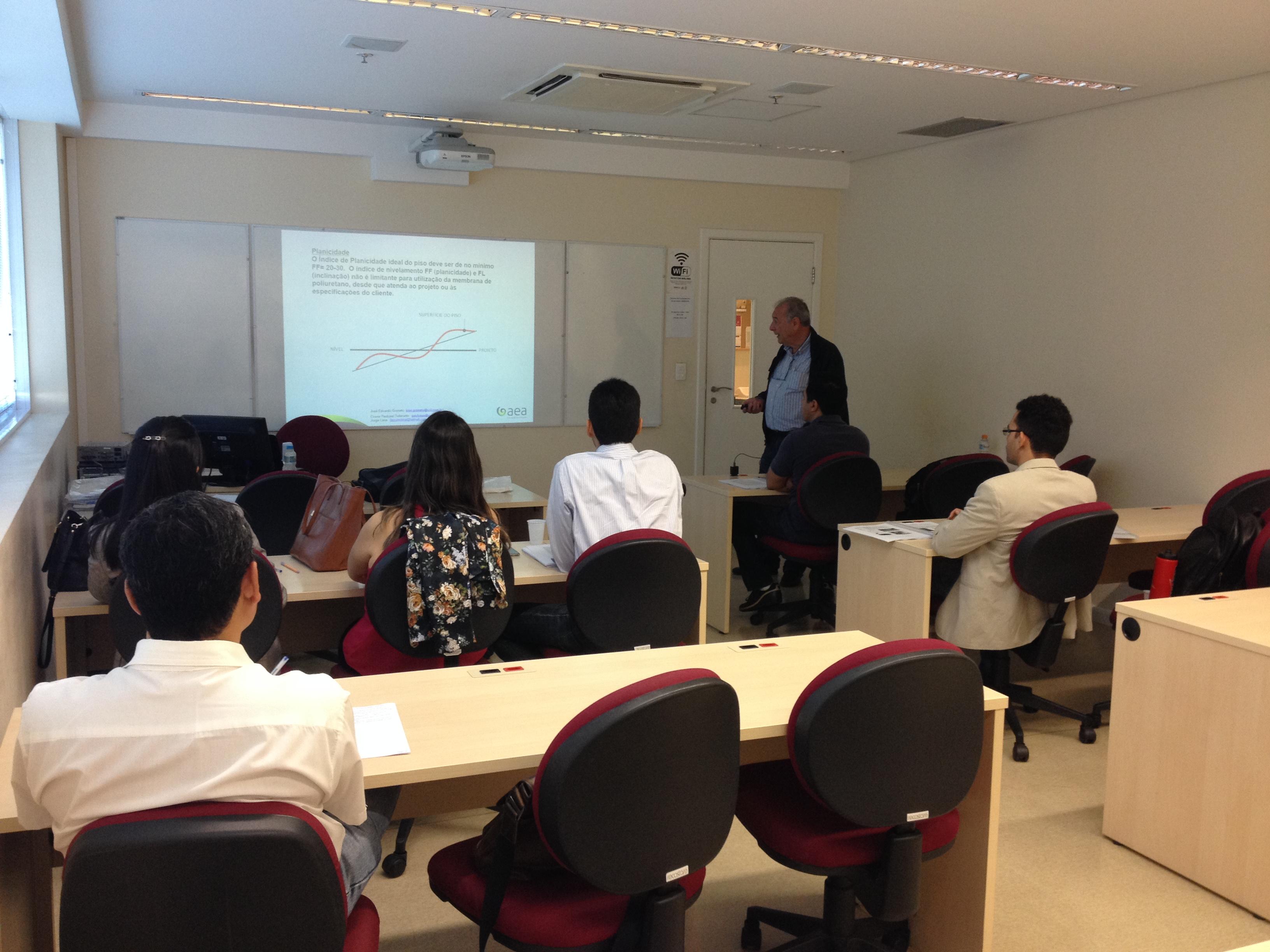 Curso de Impermeabilização - Projeto, Execução, Materiais e Fiscalização em São Paulo/SP